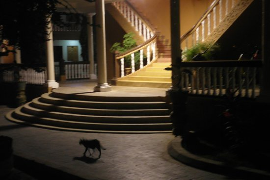 The Hotel Bagan Umbra : One of the entrances.