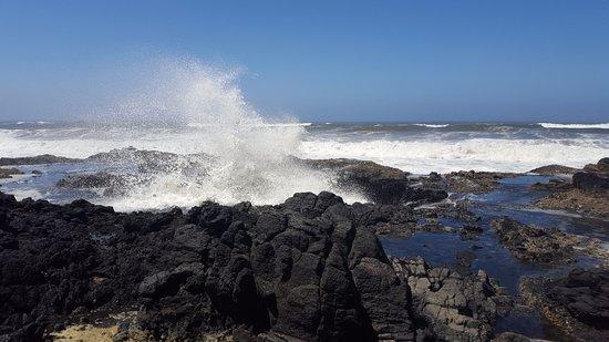Cape Perpetua Scenic Area : Thors well