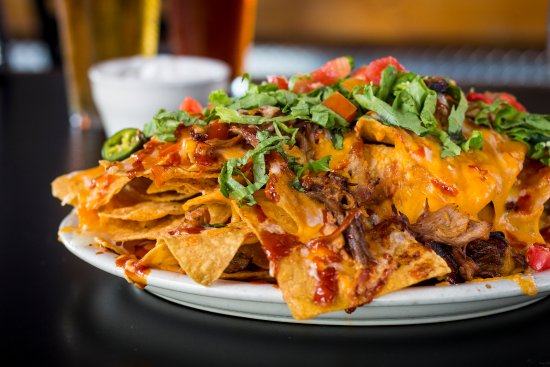 Glen Allen, VA: Custom built, layered and piled high Bar-B-Q Nachos!