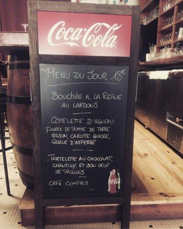 Lannemezan, Francia: Nouveau à l'hôtel de la gare le restaurant a ouvert !