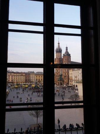 Hotel Wentzl: Vista do quarto: só pela localização já vale
