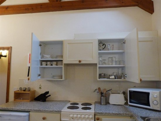 St Blazey, UK: Kitchen