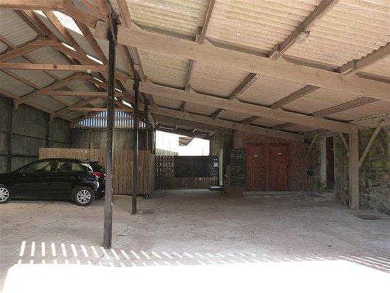 St Blazey, UK: Undercover parking