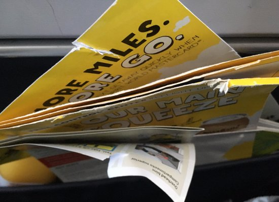 Spirit Airlines: Documents never replaced, always same and tears documents