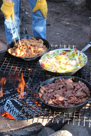 Mc Coy, CO: Dinner at Pack Camp