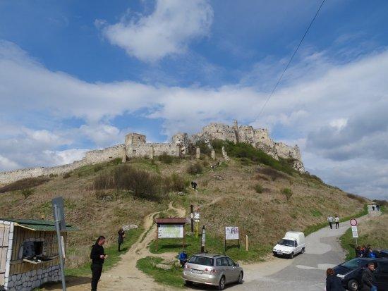 Kosice Region, Slowakije: Blick vom Parkplatz
