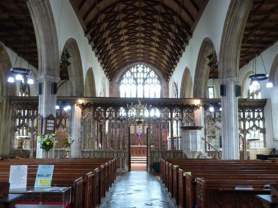 Totnes, UK: Inside