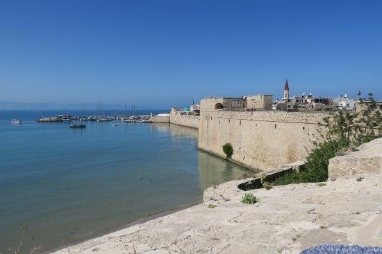 Acre, Israel: Akko view