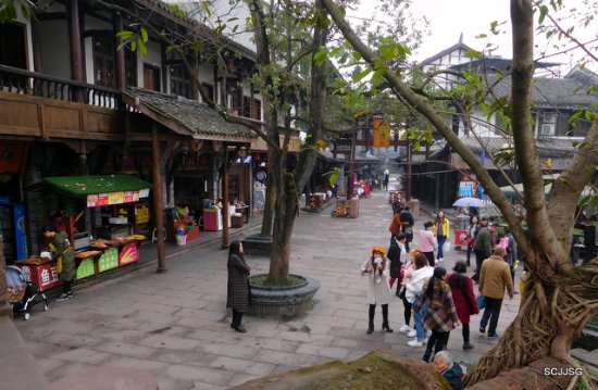 Shuangliu County, China: Huanglongxi Ancient Town