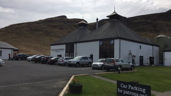 Lochranza, UK: Arran Distillery