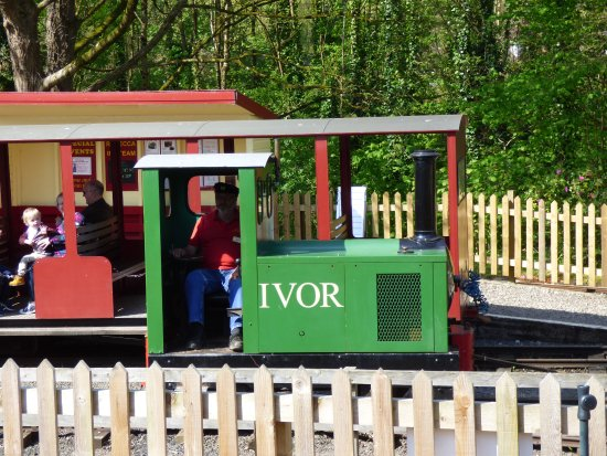Tiverton, UK: Ivor the Engine Driver.