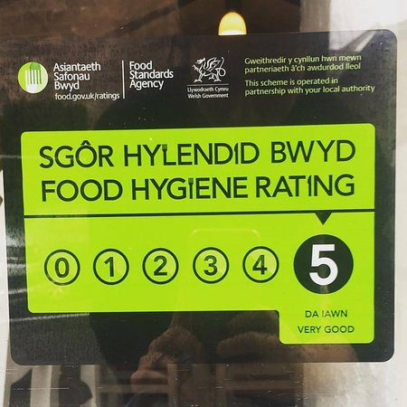Brecon, UK: TOP HEALTH AND HYGIENE RATING 2017