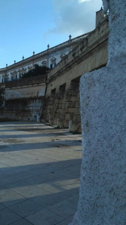 Muro delle Cattive: MURA DELLE CATTIVE VISTE DAL LATERALE