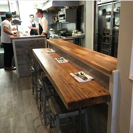 Greenport, Estado de Nueva York: Chef's Counter Seating