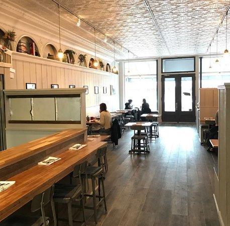 Greenport, Estado de Nueva York: Dining Room