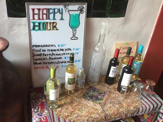Hotel Casa Encantada: It's always happy hour!