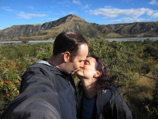 Springfield, Nowa Zelandia: Celebrating our 10yr anniversary where we were married!