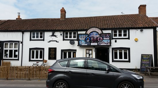 Bridgwater, UK: Pub frontage from road
