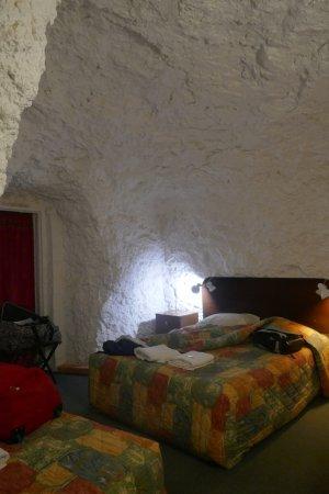 White Cliffs, Australia: Underground room with a window