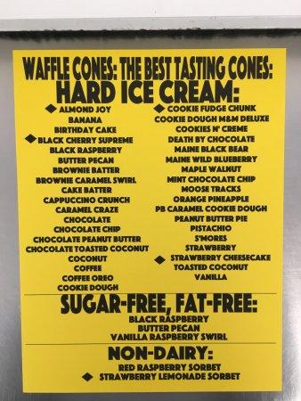 Cohoes, Estado de Nueva York: 2017 Hard Ice Cream Flavors!