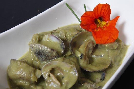 Almejas en salsa verde picture of letras de laurel - Salsa verde para almejas ...