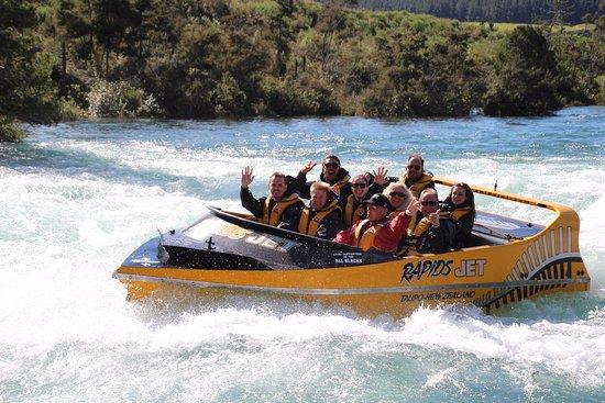 تاوبو, نيوزيلندا: All smiles!