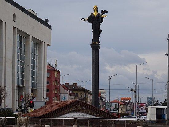 Монумент в честь языческой богини Софии Премудрой