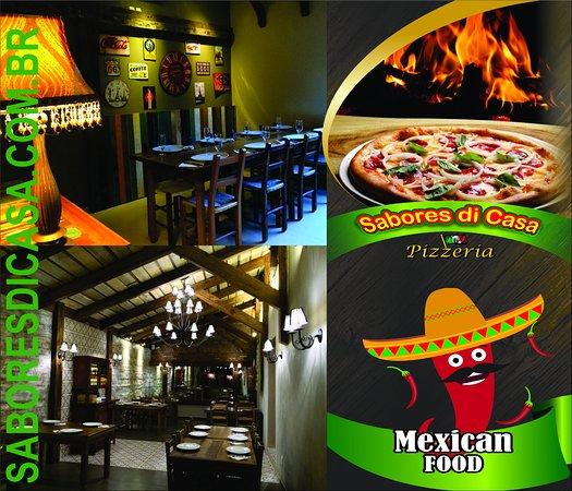 Marau, RS: Sabores Di Casa Pizzeria - Comida Mexicana - Saladas - Porções