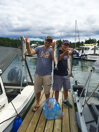 Picture of san juan island fishing charters for San juan island fishing charters