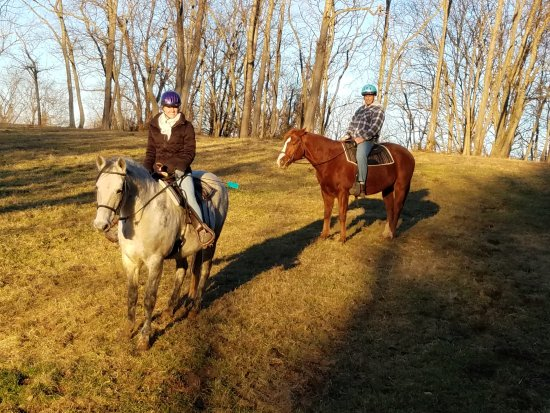 Petersburg, KY: Riding horses at First Farm inn is unlike anywhere else you've ridden.  You learn how horses thi