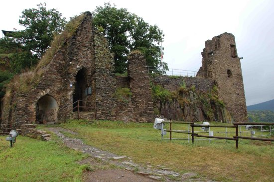 Altenahr, Germany: around the castle ruins