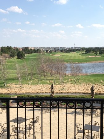 Glenview, IL: View from balcony