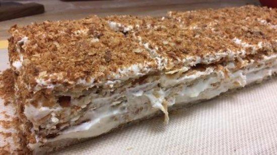 """Manassas, VA: """"Napoleon"""" cake"""