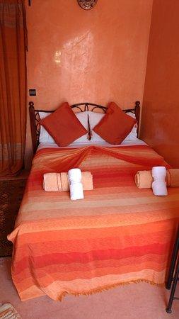 Riad Minorisa: Nuestra acogedora habitación. Situada en la terraza. Romántics y acogedora.