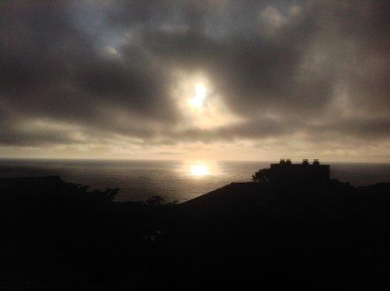 Hyatt Carmel Highlands: Sunset from the room