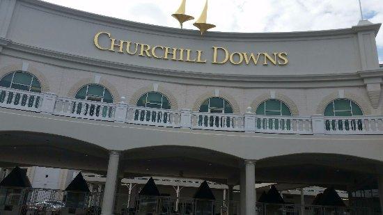 Churchill Downs: front of Kentucky Derby