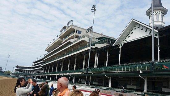 Churchill Downs: grandstands