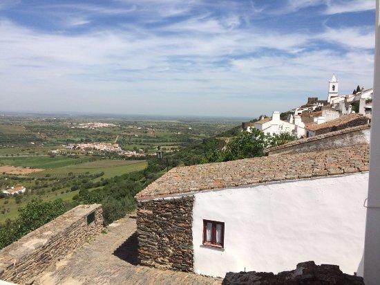 Monsaraz, البرتغال: visão da muralha