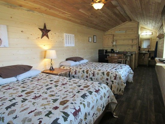 Island Park, ID: 4 Person Double Queen Cabin