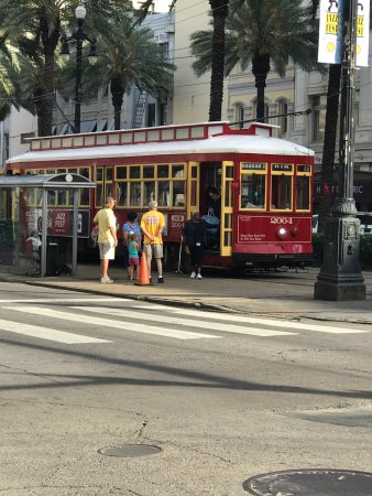 picture of rta streetcars new orleans tripadvisor. Black Bedroom Furniture Sets. Home Design Ideas