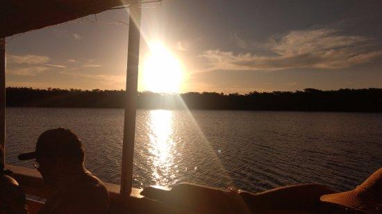 Santa Cruz Cabralia, BA: Pôr do Sol