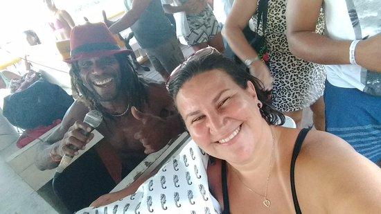 Santa Cruz Cabralia: Figura de mais, divertiu a todos sem ser chato