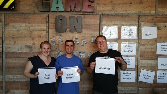 Morehead City, Caroline du Nord : Game On Escape Rooms