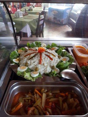 Tilaran, Kosta Rika: Comida Tipica Costarricense
