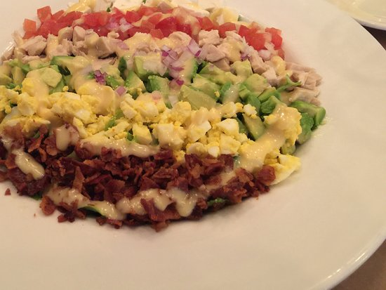 Highland Park, IL: An artistic and delicious Cobb salad