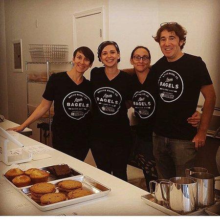 Berea, KY: Our bagel crew!