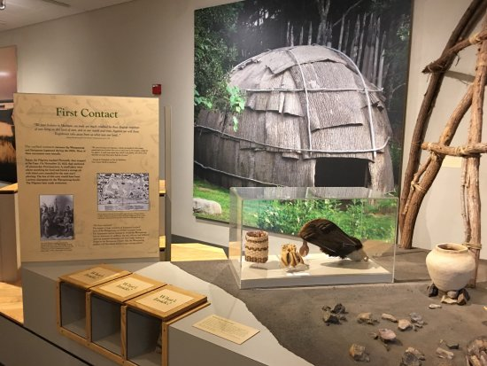 Eastham, MA: Salt Pond Visitor Center Museum display
