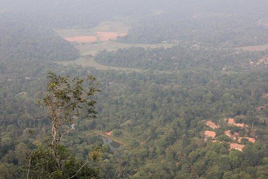 Virajpet, Indien: Top view of the resort taken during the trek