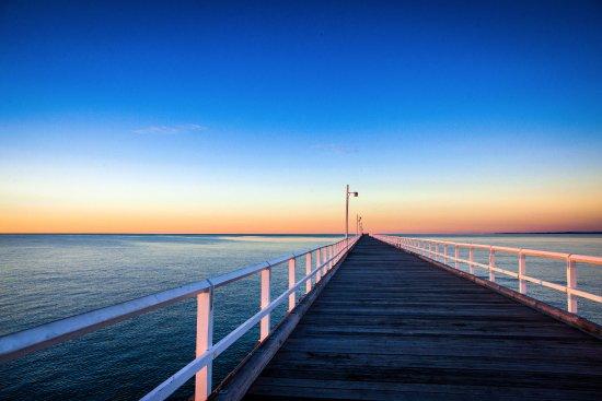 Torquay, Australie : Hervey Bay's, historical Urangan Pier