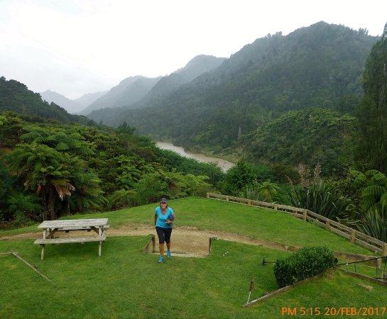 Whanganui, Nieuw-Zeeland: arriving just before the rain ... still beautiful all the same !